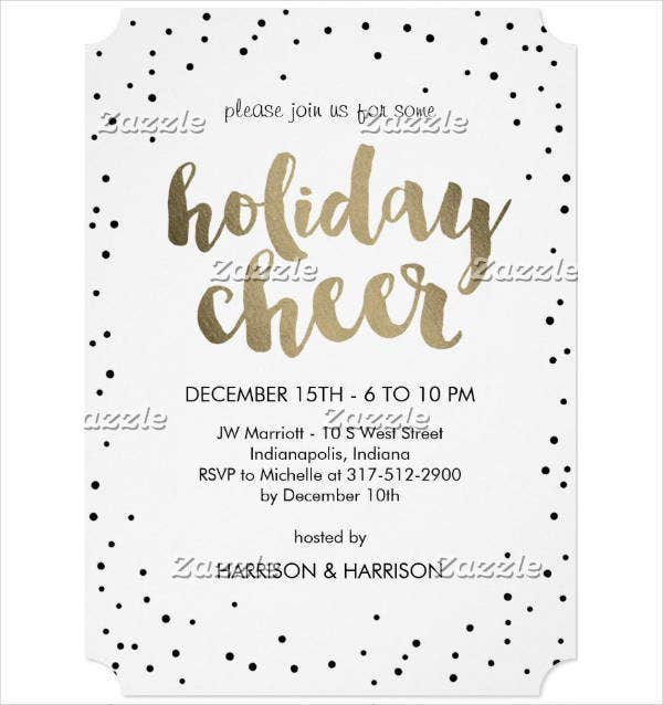 Small Business Holiday Invitation