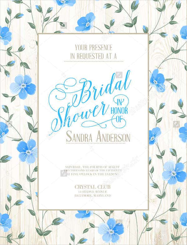 vintage bridal shower party banner2