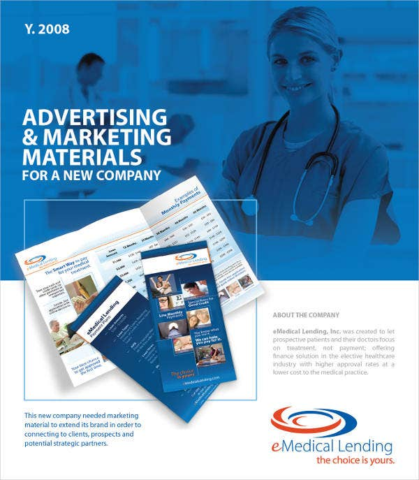 advertising-medical-company-brochure