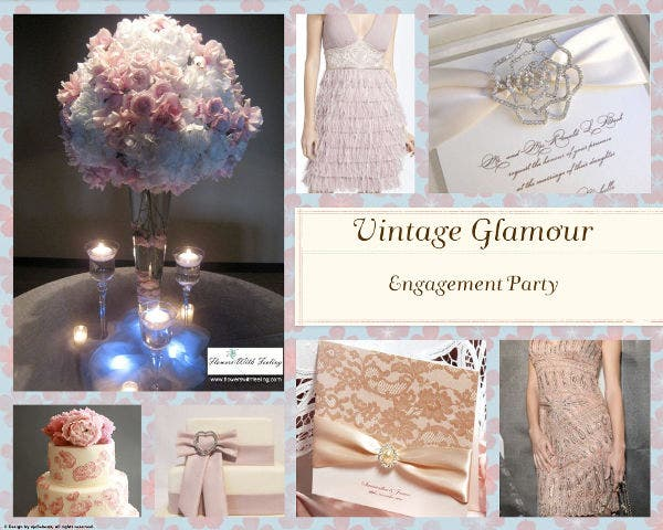 vintage-engagement-party-banner