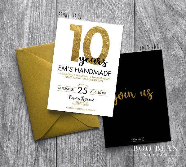 9 business event invitations designs templates free premium
