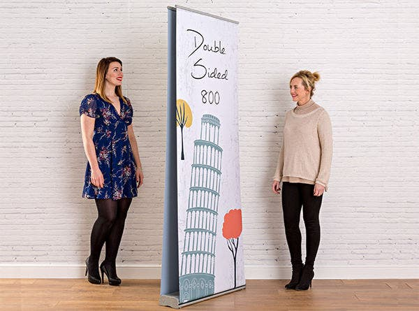 Double Sided Advertising Pull Up Banner
