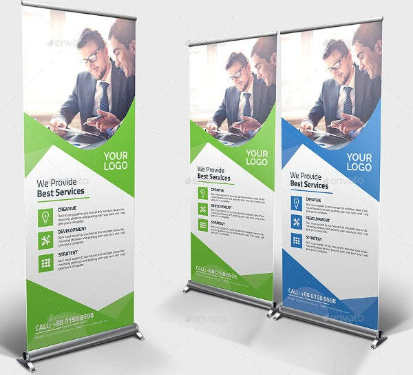 Advertising Pull Up Promotional Banner