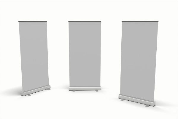 Advertising Blank Pull Up Banner