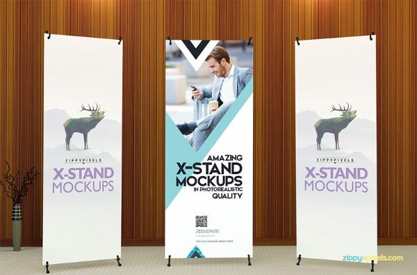 14 advertising pull up banners