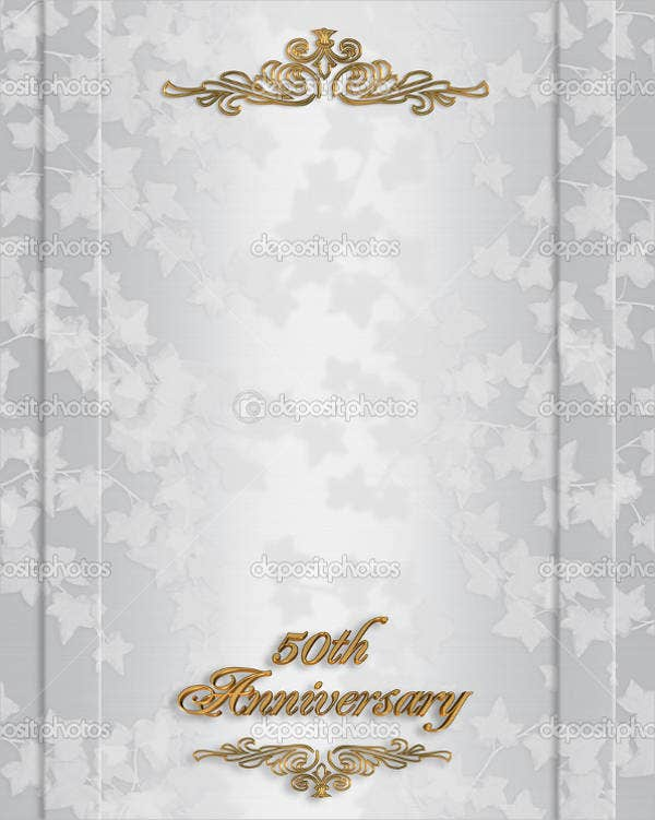 golden-anniversary-party-invitation