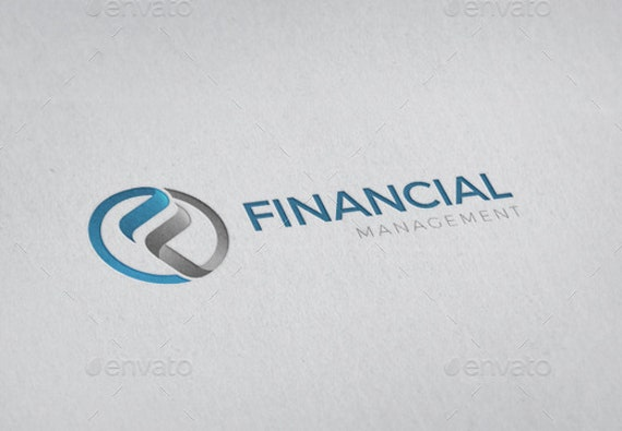 financial-management-logo-template