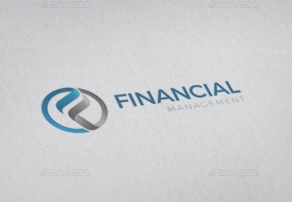 financial management logo template