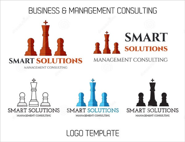 business management consultant logo