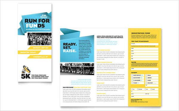 8 corporate event brochures designs templates free for Event program template publisher