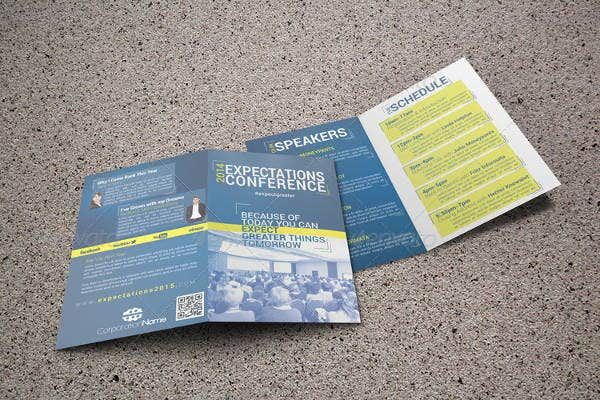 conference-event-bifold-brochure