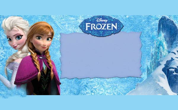 free-frozen-party-banner
