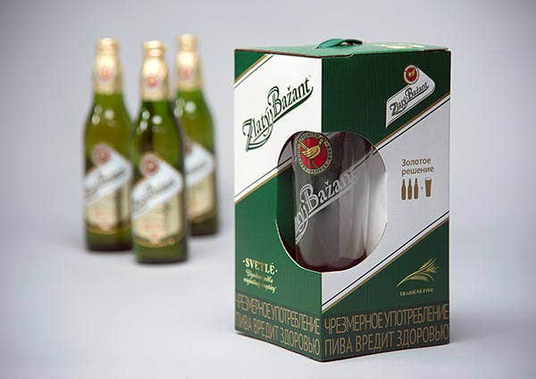 Beer Bottle Gift Packaging