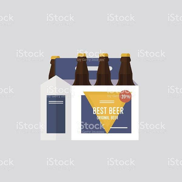 cardboard beer bottle packaging