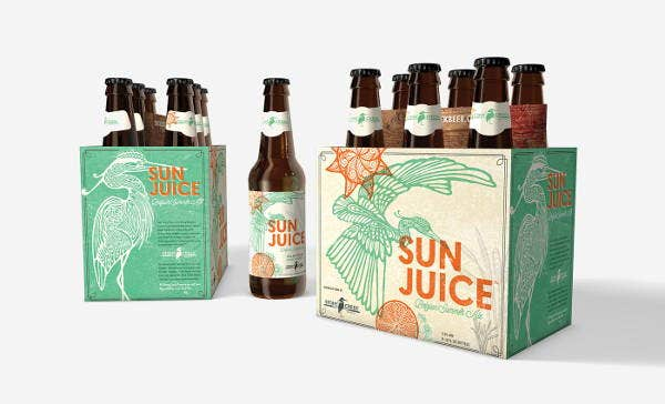 Seasonal Beer Bottle Packaging