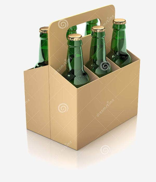 Beer Bottle Cartons Packaging