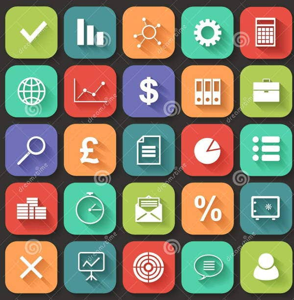 business-web-application-icons
