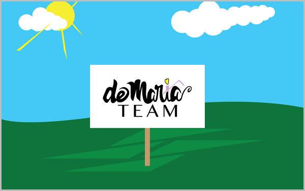 real estate team agent logo