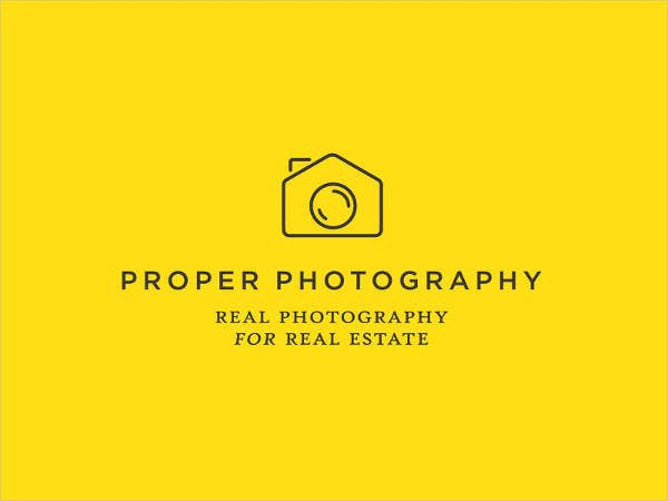 real estate team photography logo