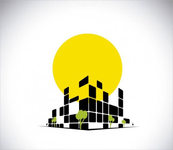 modern real estate team logo