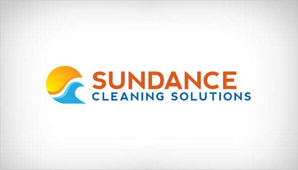 cleaning corporate company logo
