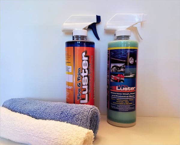 Car Cleaning Product Packaging