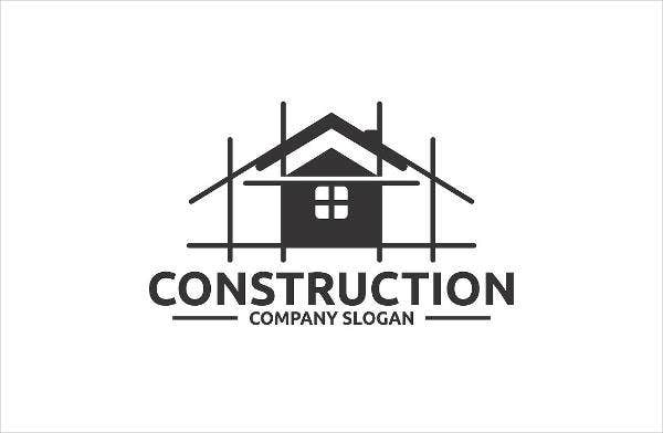 construction corporate company logo