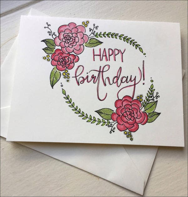 9 Birthday Greeting Cards Designs Templates Free Premium