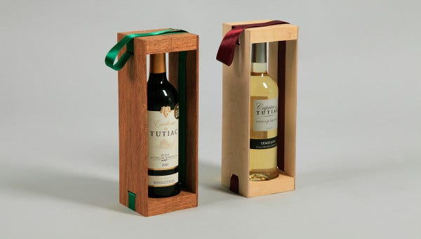 wine box packaging templates