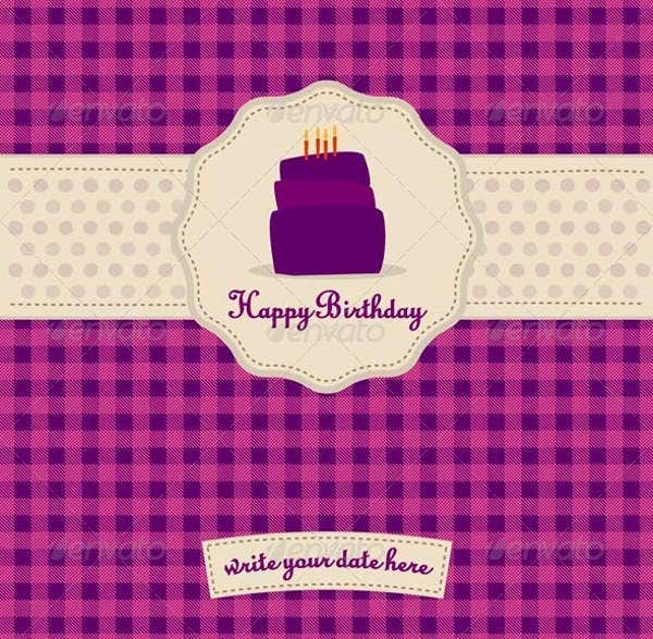 6 Birthday Card Templates: 6+ Birthday Gift Card Templates - Design, Templates
