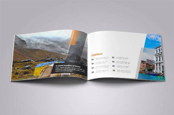 Indesign Corporate Hotel Brochure