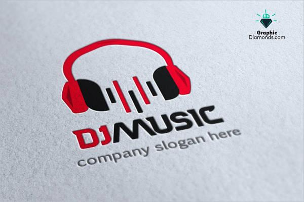 dj-company-logo-vector