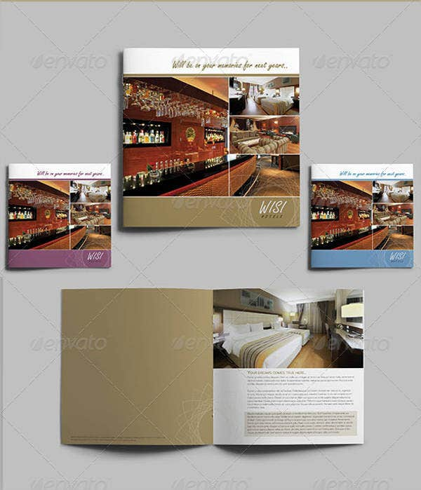 hotel brochure template - 9 corporate hotel brochures editable psd ai vector