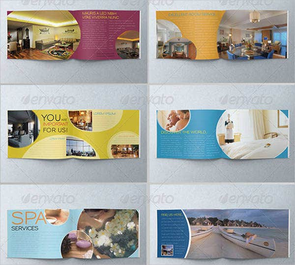 Colorful Corporate Hotel Brochure