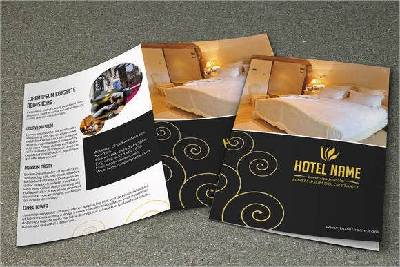 Corporate Hotel Bifold Brochure
