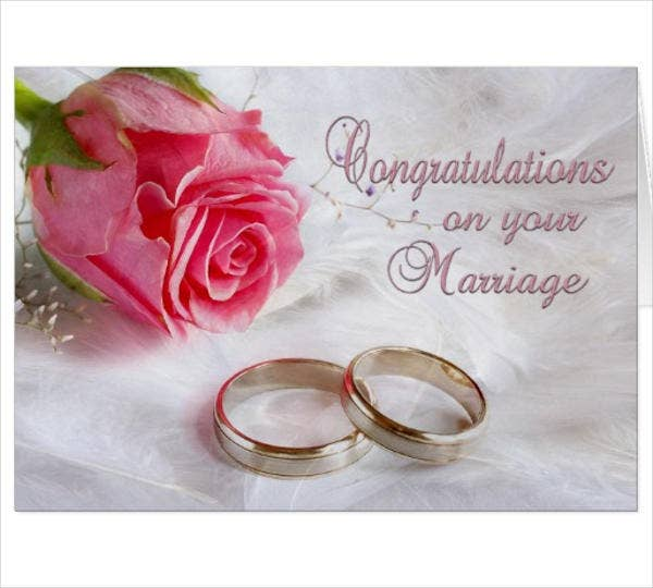 8 marriage greeting cards designs templates free premium congratulations marriage greeting card m4hsunfo
