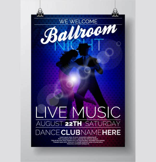 Music Event Brochures  Design Templates  Free  Premium Templates