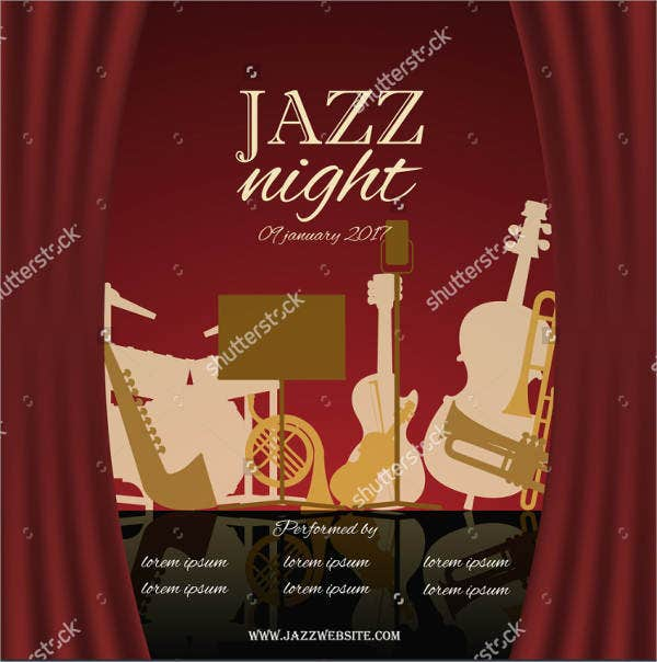 jazz-music-event-brochure