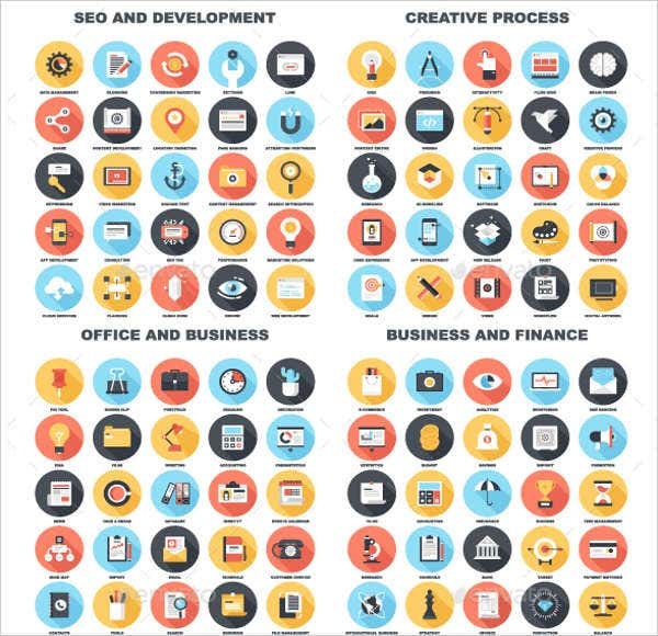 business-and-technology-vector-icons-pack