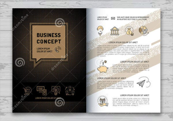 Elegant A4 Business Brochure