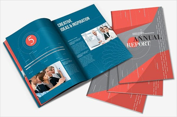 a4 business product brochure