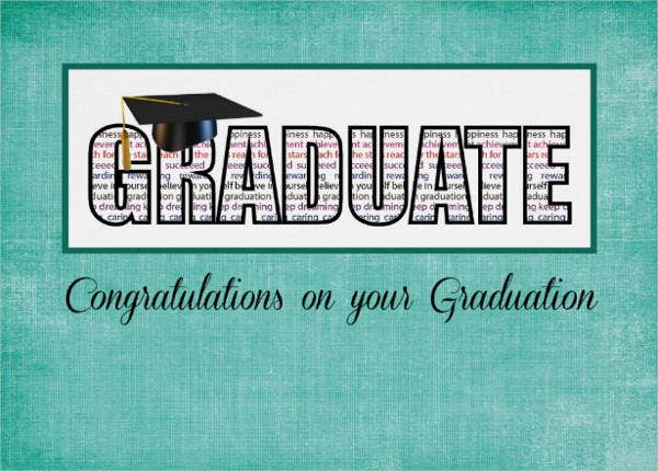 Graduation Greeting Card Wording