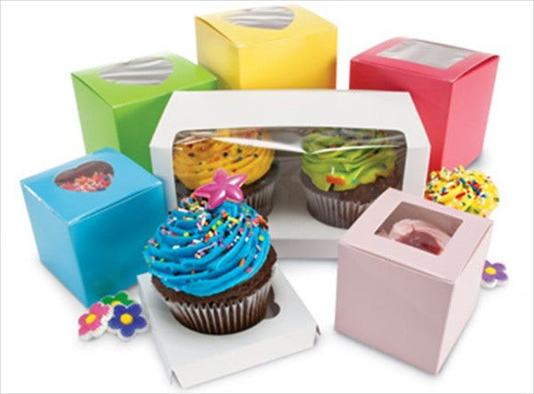 Custom Cupcake Box Packaging