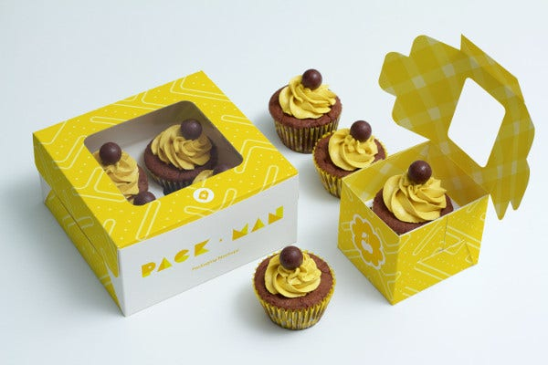 Cupcake Box Packaging Presentation
