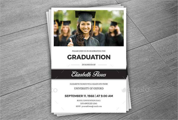 Graduation Photo Greeting Card