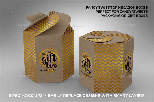 candy box packaging template1