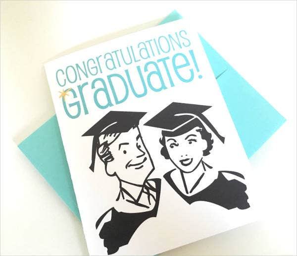 High School Graduation Greeting Card