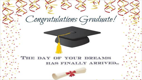 9  graduation greeting cards