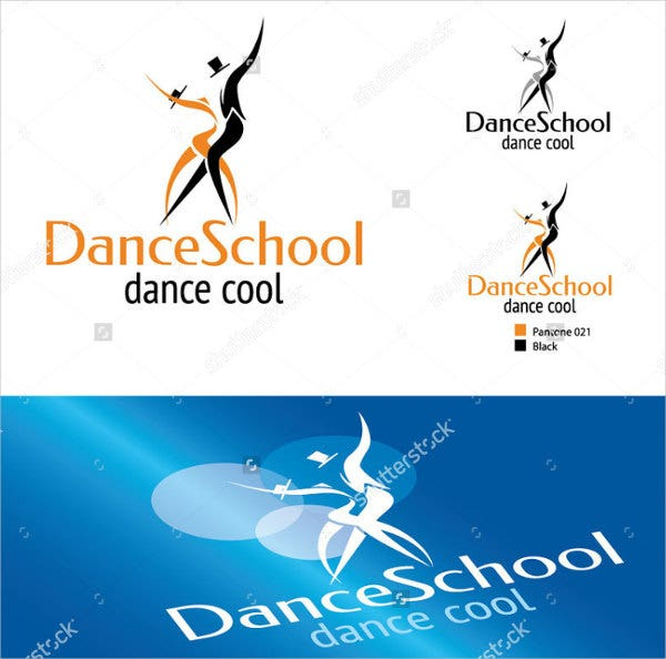 dance team photography logo