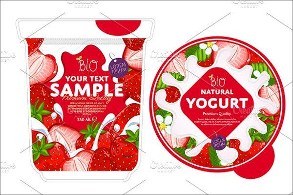 health food product packaging